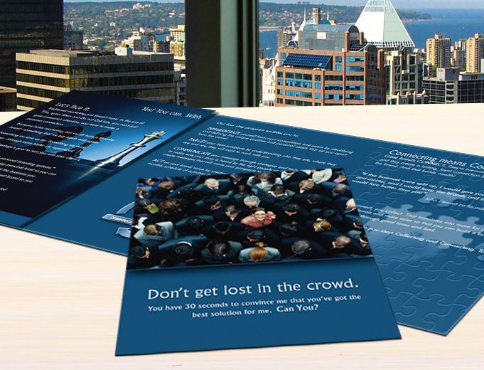 Brochure and Promotional Design by DeBord Creative