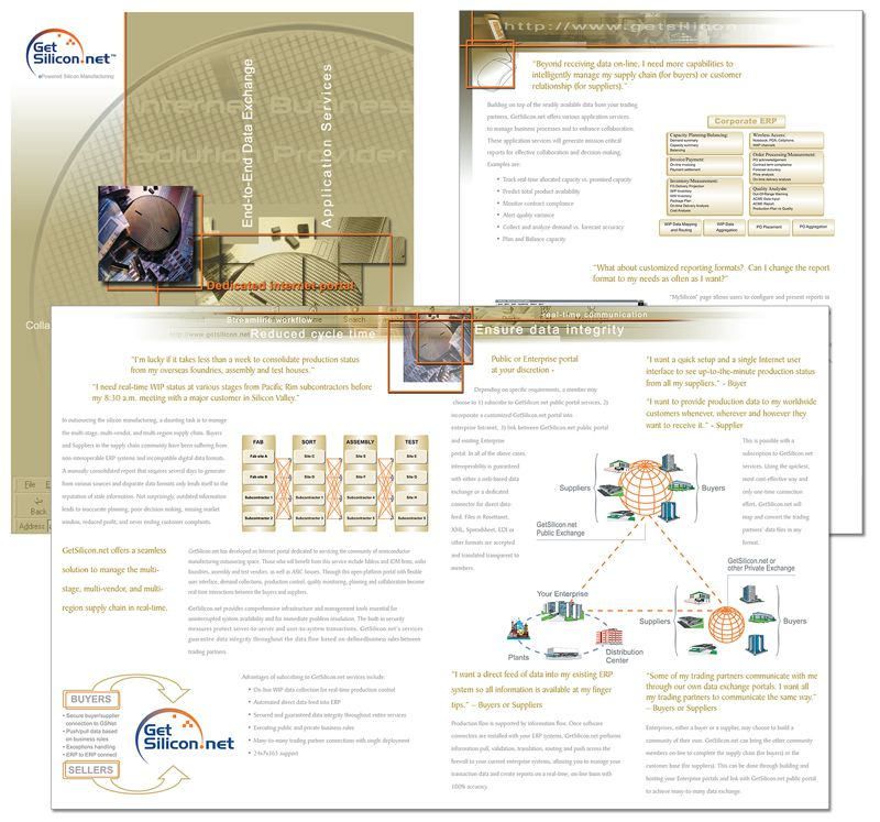 Get Silicon Brochure Design