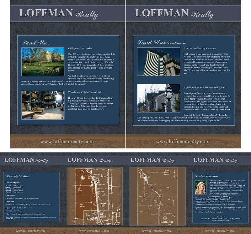Loffman Brochure Design