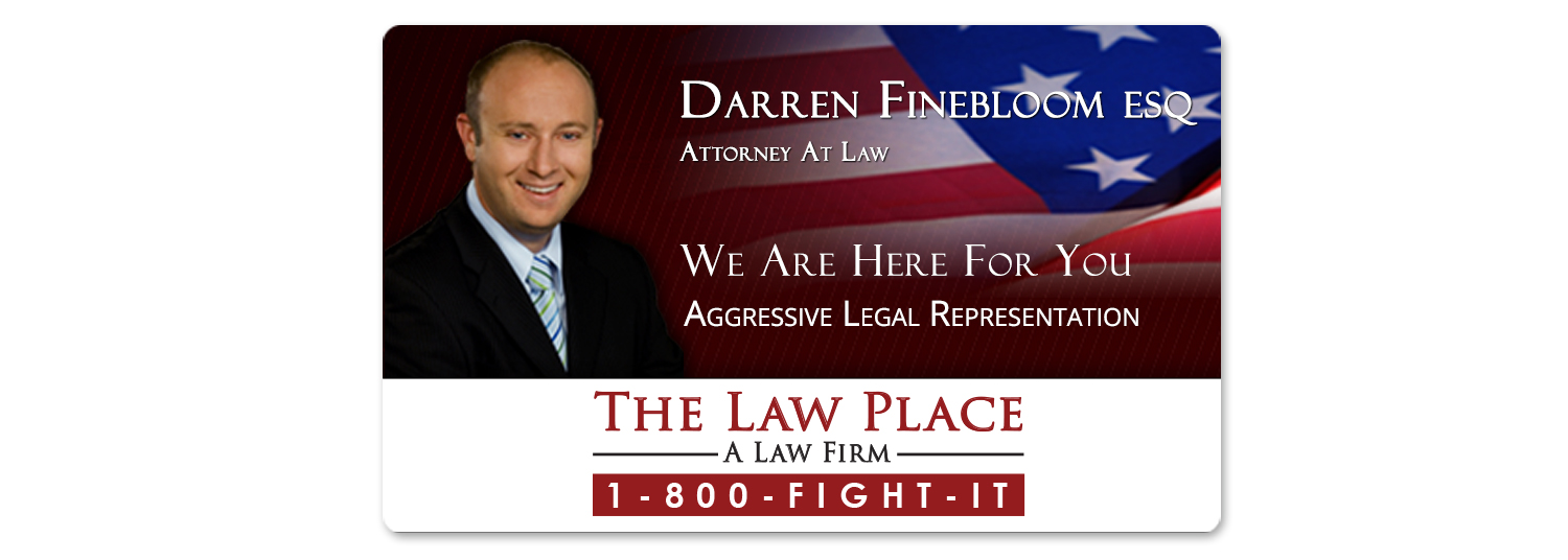 The Law Place Email Banner Design