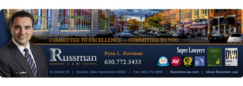 Russman Law Firm Email Banner Design