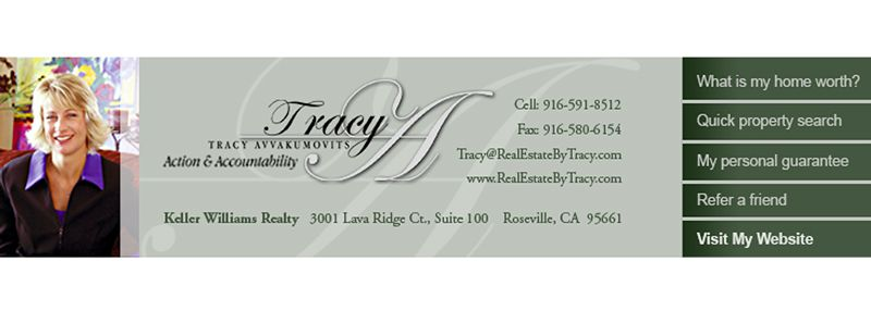 Tracy Email Banner Design