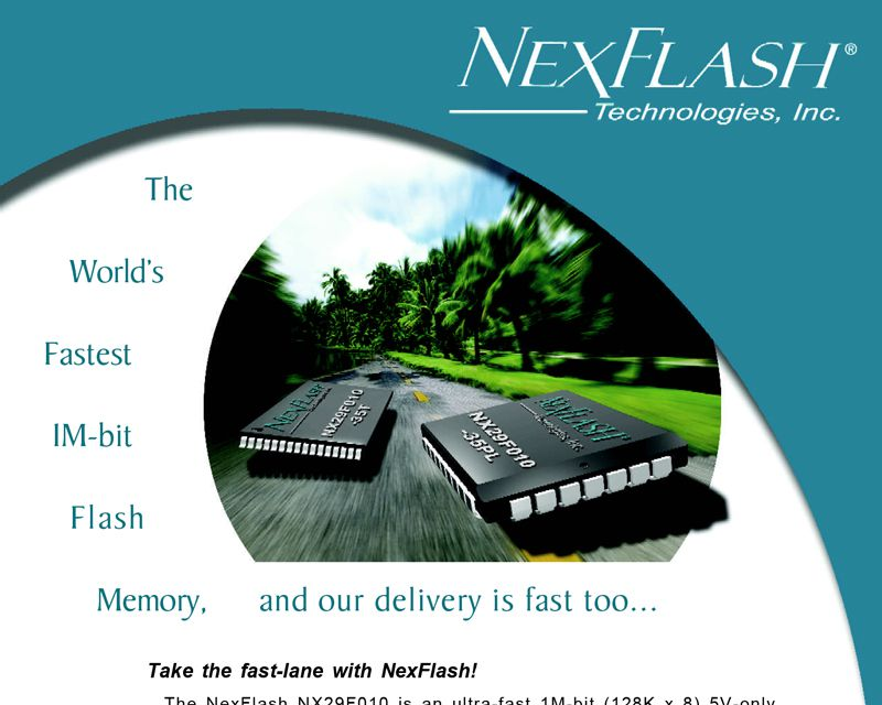 NexFlash Handout Design