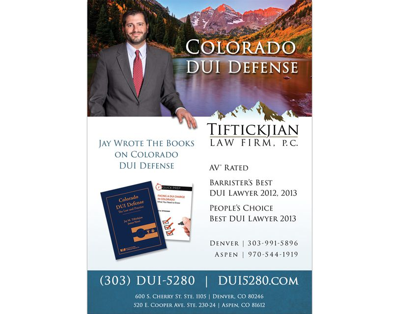 Tiftickjian Law Firm Handout Design