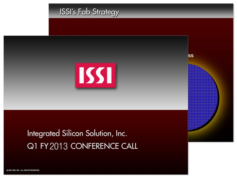ISSI Shareholders Presentation