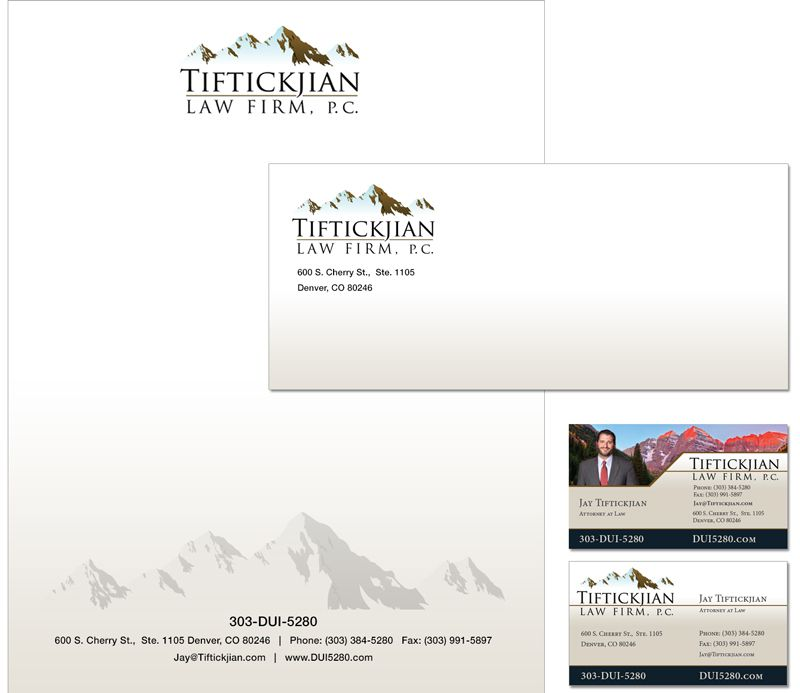Tiftickjian Law Firm Stationery