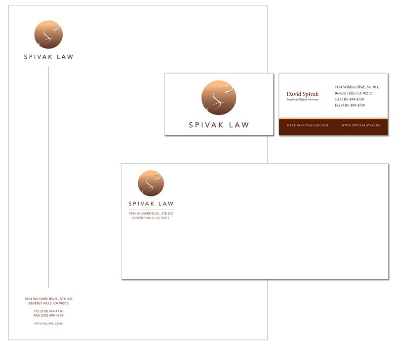 Spivak Law Firm Stationery